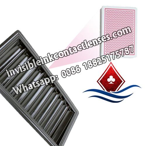 Lente poker codice a barre vassoio del chip da poker 500