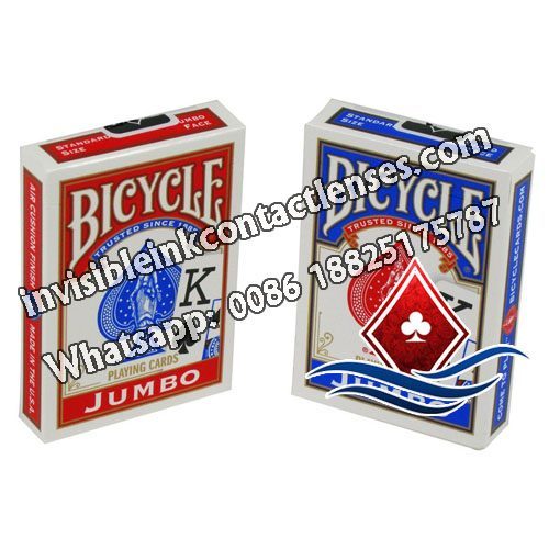 Bicycle Carte Inchiostro Luminose Jumbo