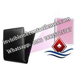 Schwarze Kurze Brieftasche Poker Kamera