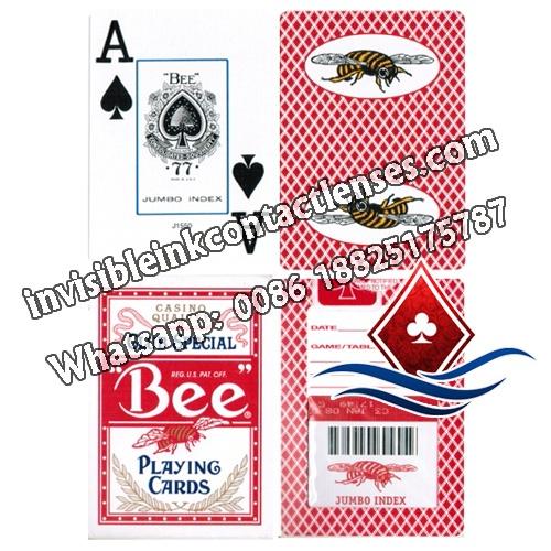 Bumble Bee carte da gioco segnate indice jumbo