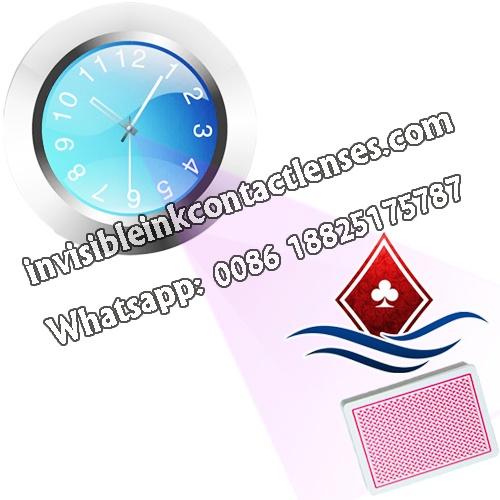 Scanner carte da poker orologio