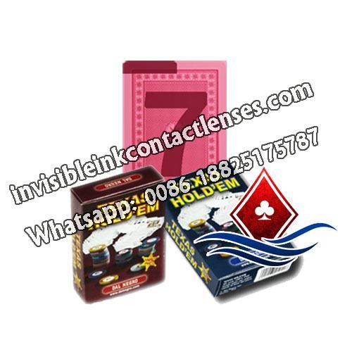 Dal Negro Texas Holdem poker a carte segnate