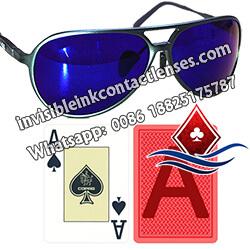Moda occhiali da poker infrarossi