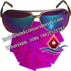 Óculos De Poker Perspectiva UV Magica
