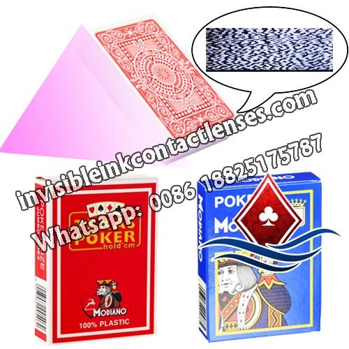 Modiano carte di poker segnate codice a barre