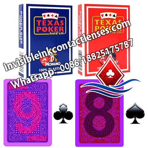 Cartas Marcadas Invisibles Modiano Texas Holdem
