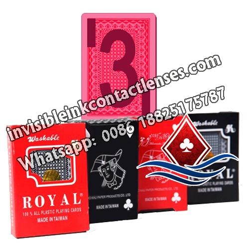 Royal Cartas de Jogar Marcados