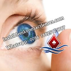 Lentes De Contato Ultravioleta Para Olhos Azuis
