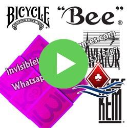 Bee&Bicycle Jugo cartas marcadas