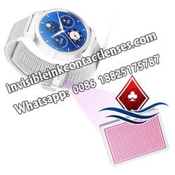 Neue Armbanduhr Spielkarten Kamera