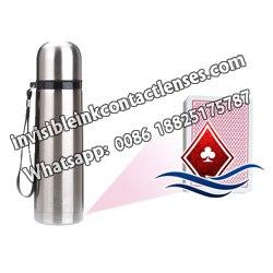 Wasserflasche Poker Scanner